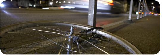 stjålet cykel anmeldelse